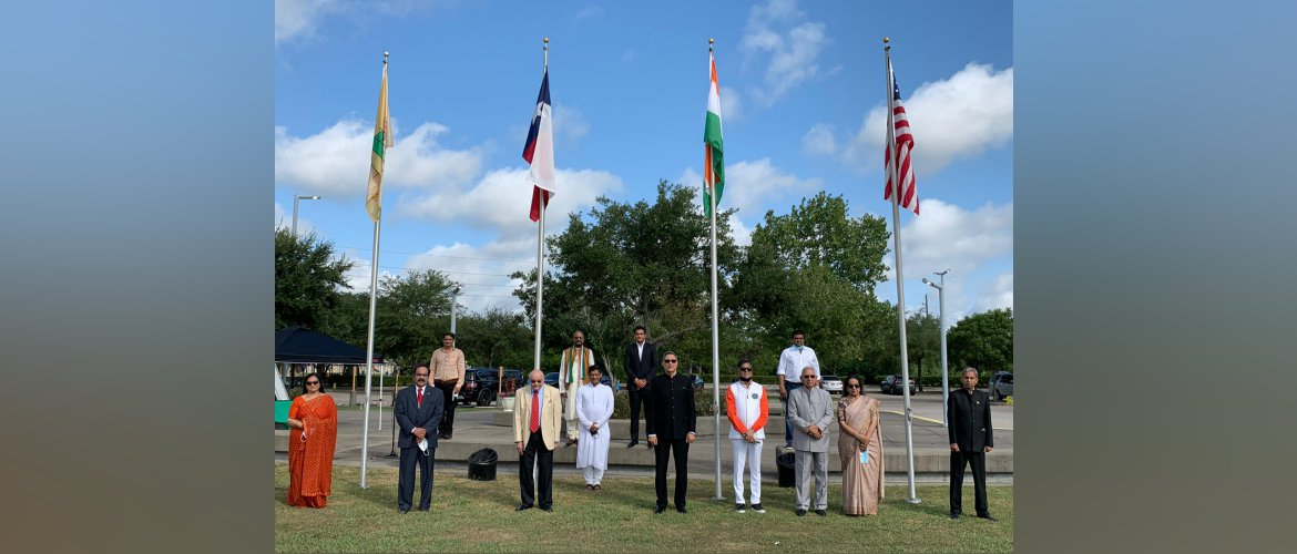 Consul General participated 74th Independence day celebrations at India House