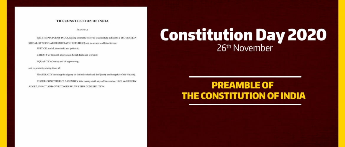 Constitution Day 26th November 2020