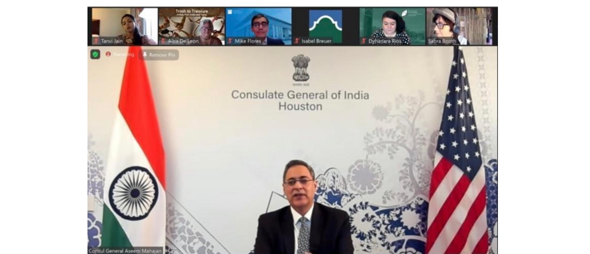 Consul General participated in the webinar 'Making Cancer History' organized by IACCGH on March 21 2021.