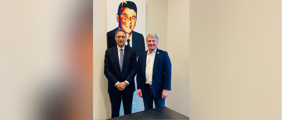 Consul General met Congressman McCaul, Ranking Member of House Foreign Affairs Committee on 10 June 2021