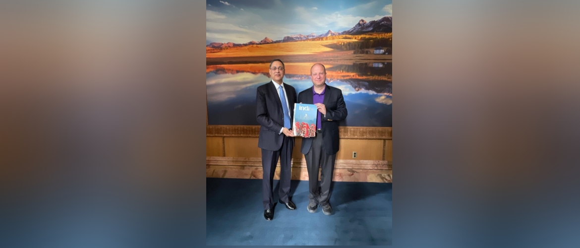 Consul General interacted with the Governor of Colorado Jared Polis on July 29,2021
