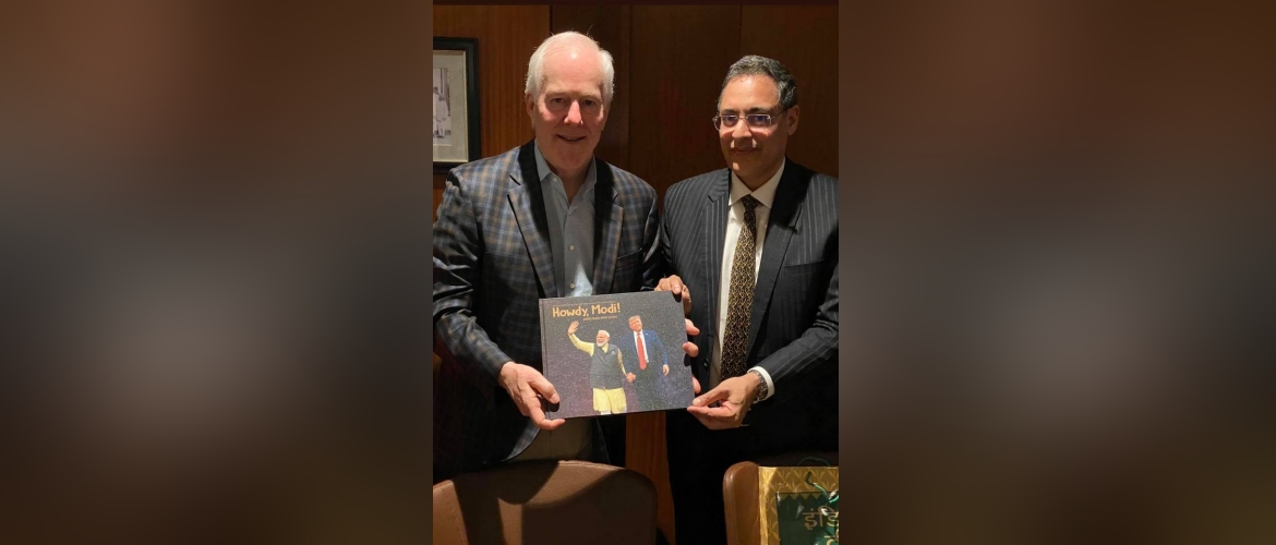 Consul General interacted with Senator John Cornyn